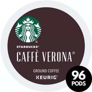 Starbucks Caffe Verona Italian Roast KCups (Case of 96)