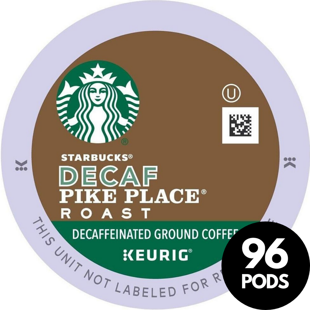 S/B*DECAF**PIKE PLACE -K-CUP**CASE