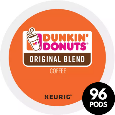 Green Mountain Coffee Roasters Dunkin Donuts Original Blend KCups (Case of 96)