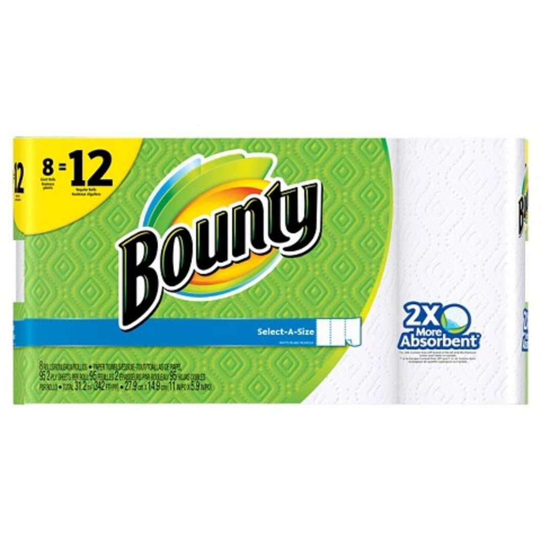 BOUNTY SELECT A SIZE 8 ROLL CASE