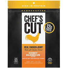 Chef's Cut Honey BBQ Chicken Jerky 1.25 oz Bags (Box of 12 Bags)
