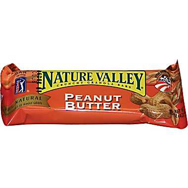 Nature Valley Crunchy Peanut Butter Granola Bars (Box of 28 Bars)