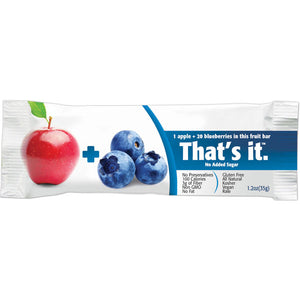 That's It Apple + Blueberries Fruit Bars (Box of 12)