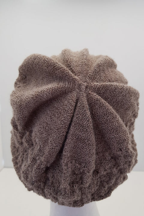 New Zealand made Alpaca Beret - Chamois