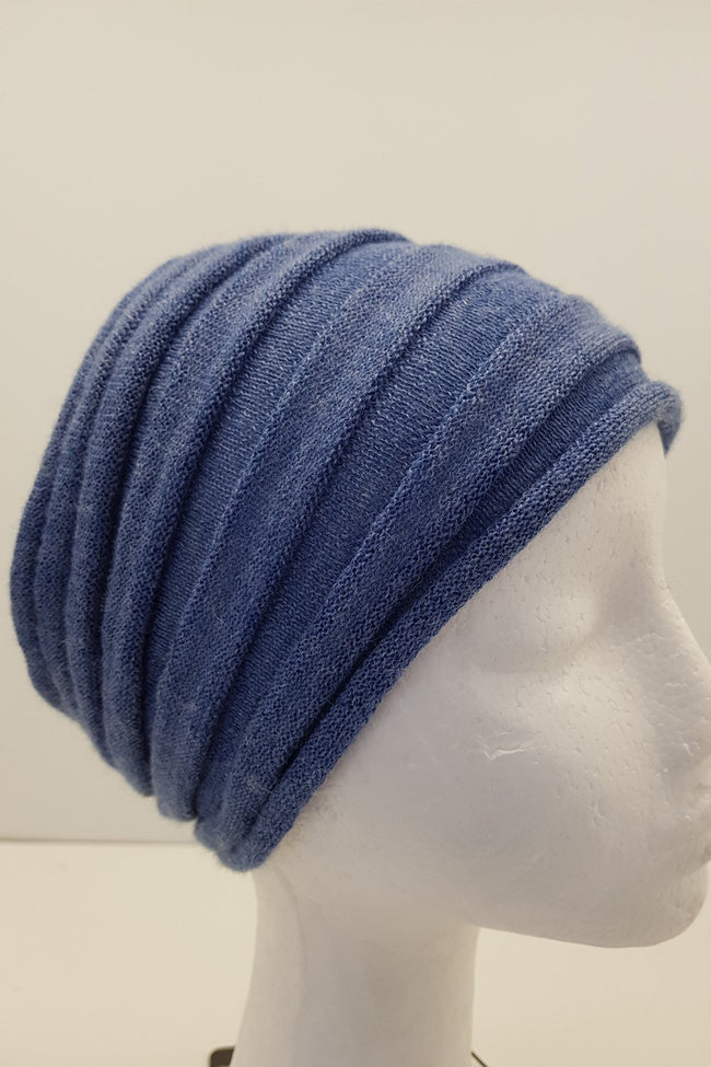 New Zealand made Alpaca Headbands - Denim