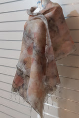 Alpaca Silk Scarf - Light Autumn
