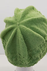 New Zealand made Alpaca Beret - Lime