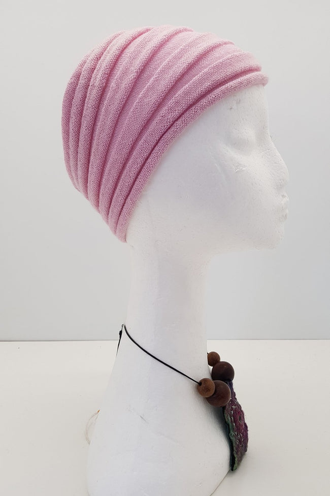 New Zealand made Alpaca Headbands - Pink