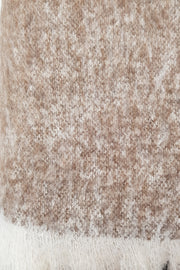 Pumice Alpaca Blanket/Throw
