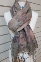 Alpaca Silk Scarf-Soft Warm
