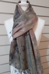 Alpaca Silk Scarf - Warm Strong