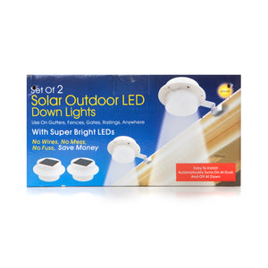 Solar Outdoor LED Down Lights