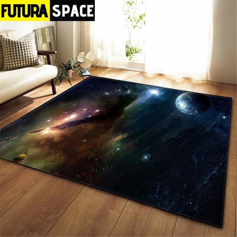 3D Galaxy Space Stars Carpets - No-6 / 100x150cm - 100000392