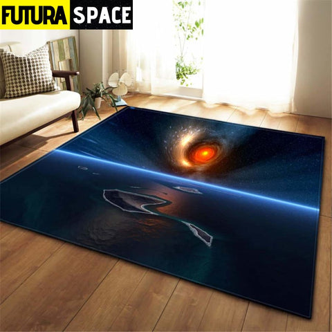 3D Galaxy Space Stars Carpets - No-8 / 100x150cm - 100000392