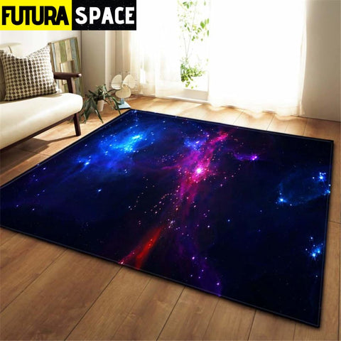 3D Galaxy Space Stars Carpets - No-1 / 100x150cm - 100000392