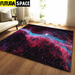 3D Galaxy Space Stars Carpets