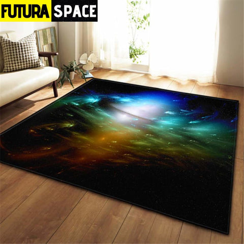 3D Galaxy Space Stars Carpets - No-9 / 100x150cm - 100000392