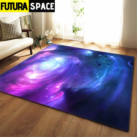 3D Galaxy Space Stars Carpets - No-10 / 100x150cm -