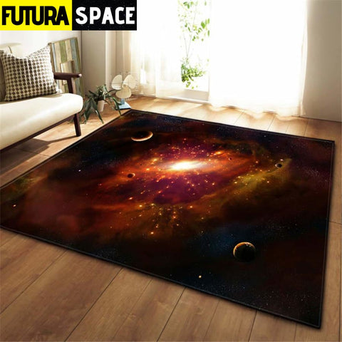 3D Galaxy Space Stars Carpets - No-12 / 100x150cm -