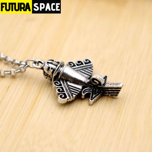 ALIEN AIRCRAFT NECKLACE - 200000162