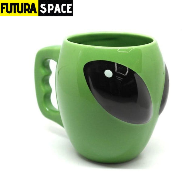 Alien Face Coffee Mug - 100003290