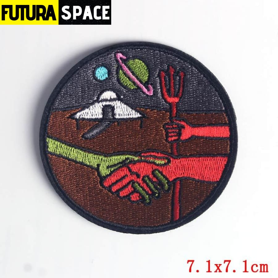 Alien Patch Sticker Badge - PE4500CT - 100005735