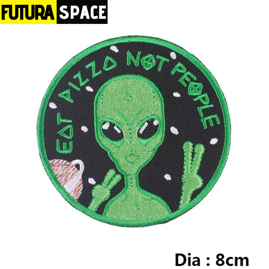 Alien Patch Sticker Badge - PE4747CT - 100005735