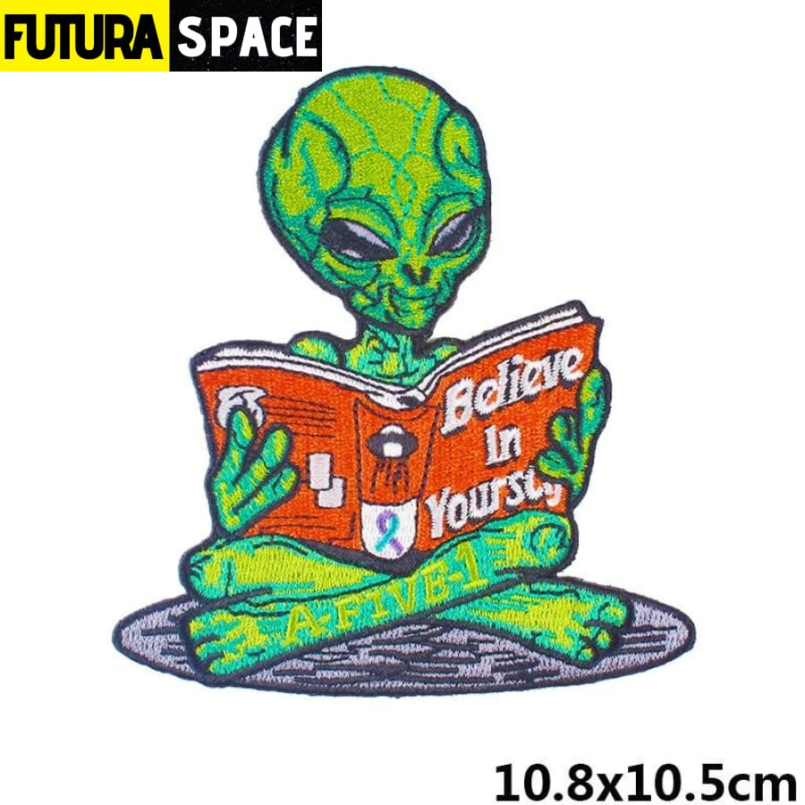 Alien Patch Sticker Badge - PE4749CT - 100005735