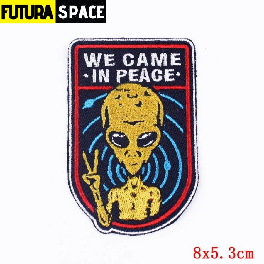 Alien Patch Sticker Badge - PE4644CT - 100005735
