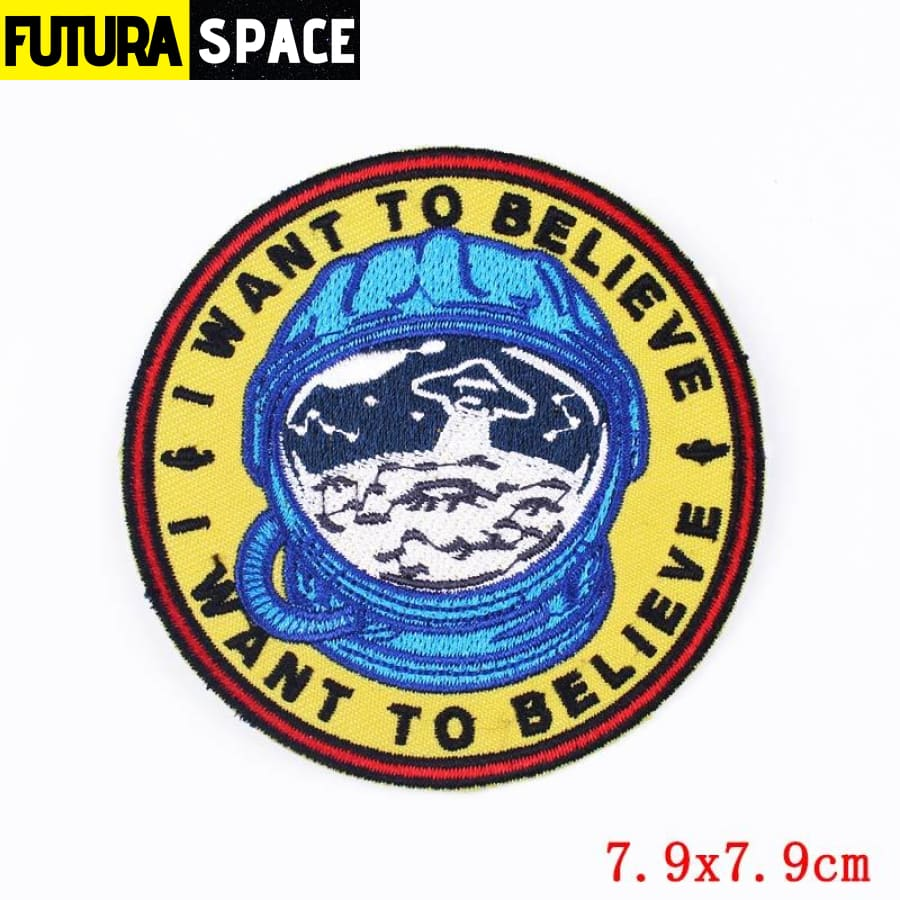 Alien Patch Sticker Badge - PE4640CT - 100005735