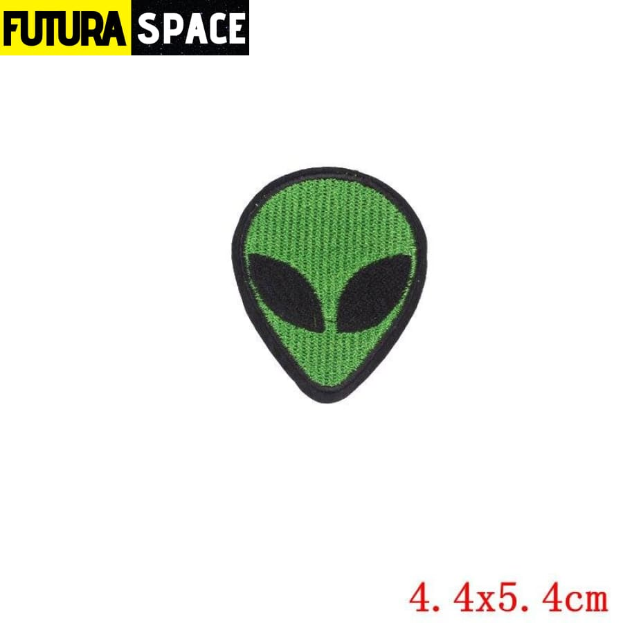 Alien Patch Sticker Badge - PE0667CT - 100005735