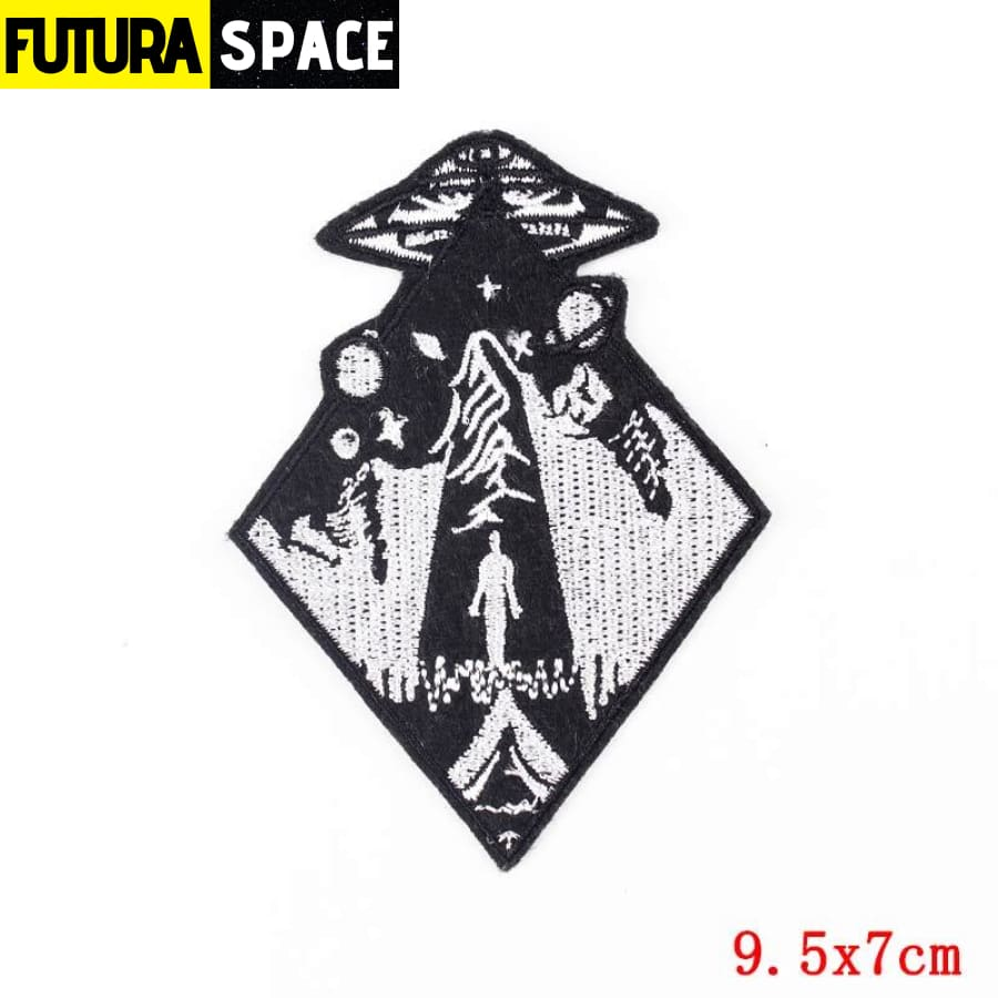 Alien Patch Sticker Badge - PE4727CT - 100005735