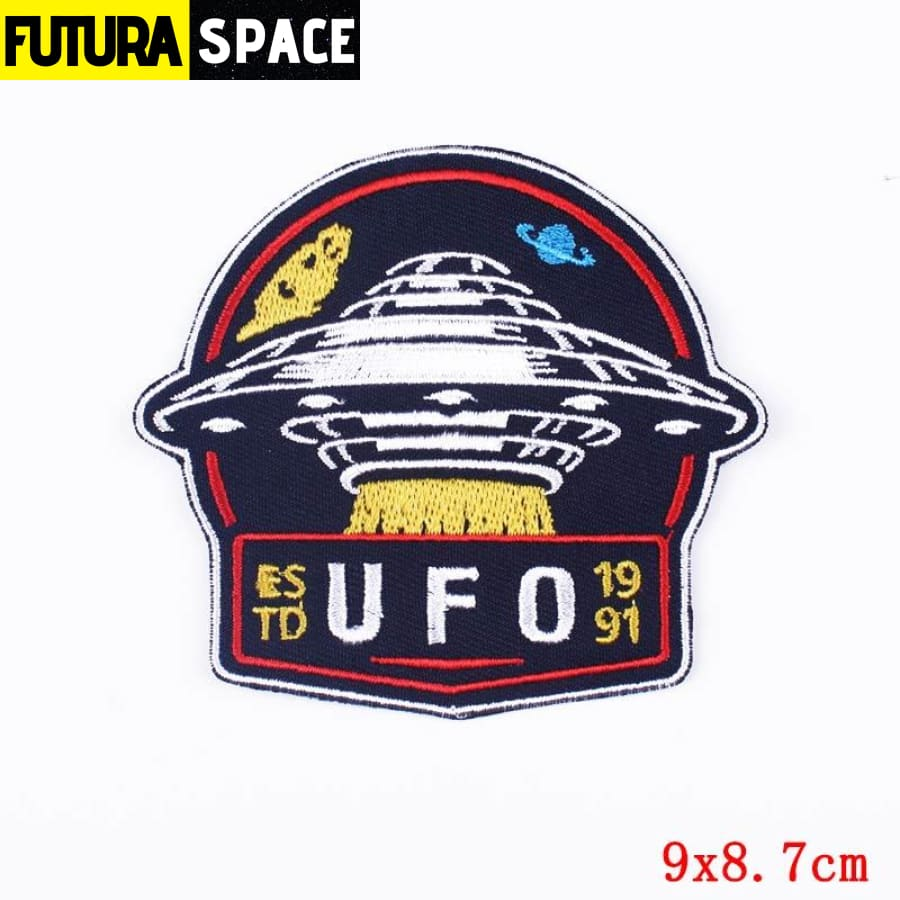 Alien Patch Sticker Badge - PE4641CT - 100005735