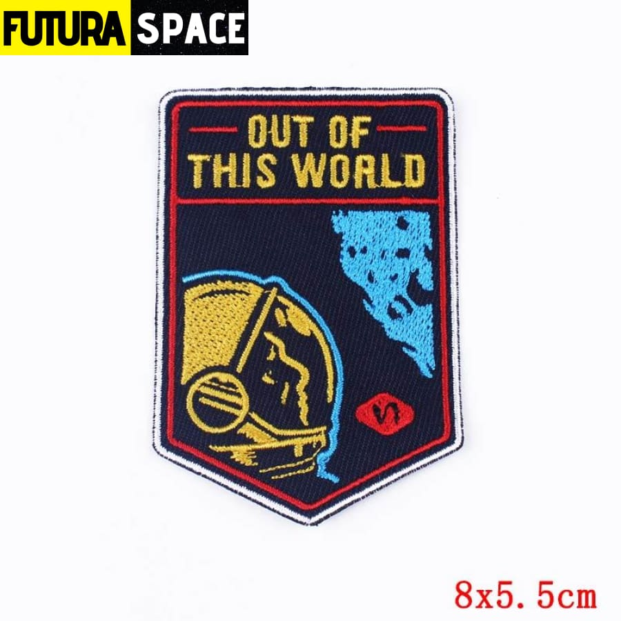 Alien Patch Sticker Badge - PE4645CT - 100005735