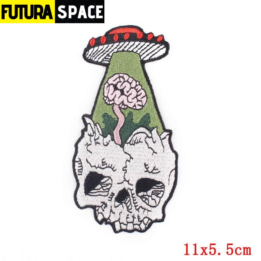 Alien Patch Sticker Badge - PE4742CT - 100005735