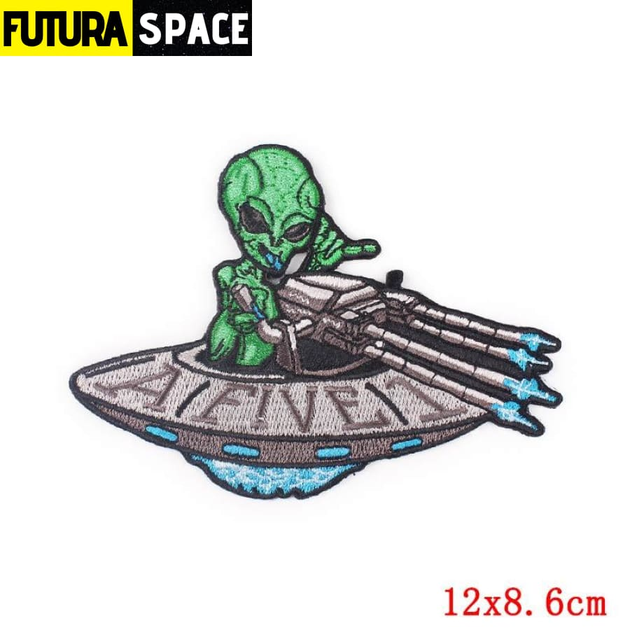 Alien Patch Sticker Badge - PE4740CT - 100005735