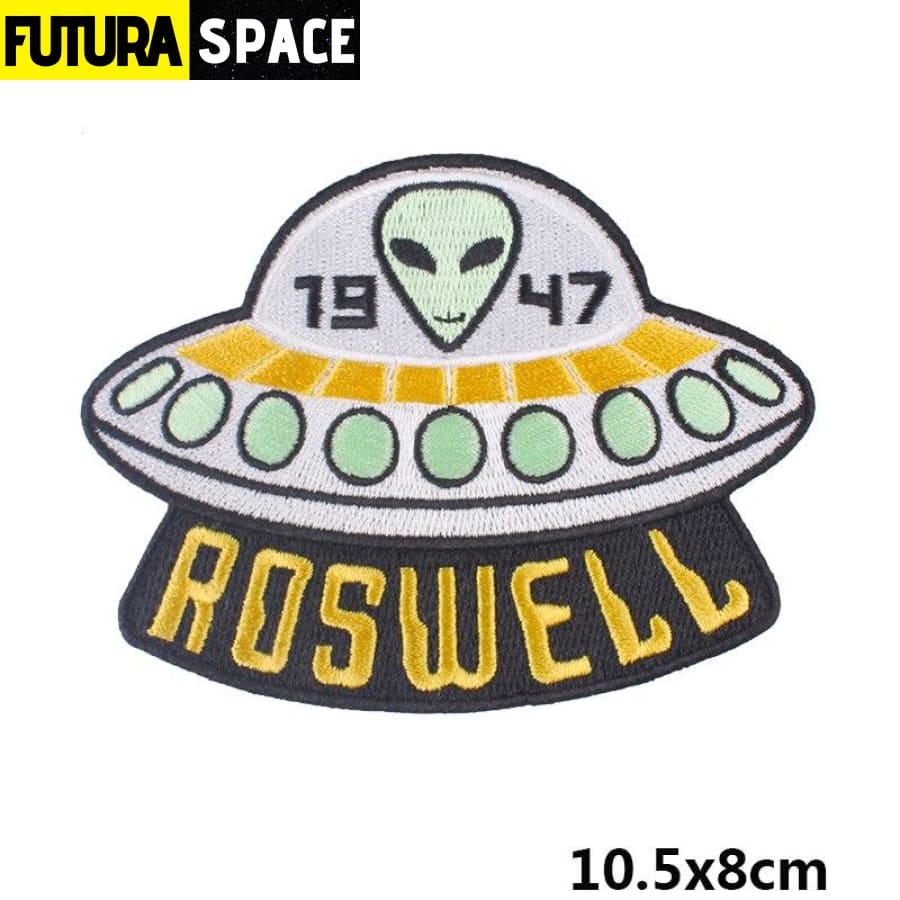 Alien Patch Sticker Badge - PE4746CT - 100005735