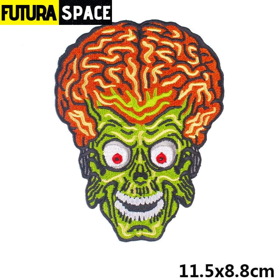 Alien Patch Sticker Badge - PE4750CT - 100005735