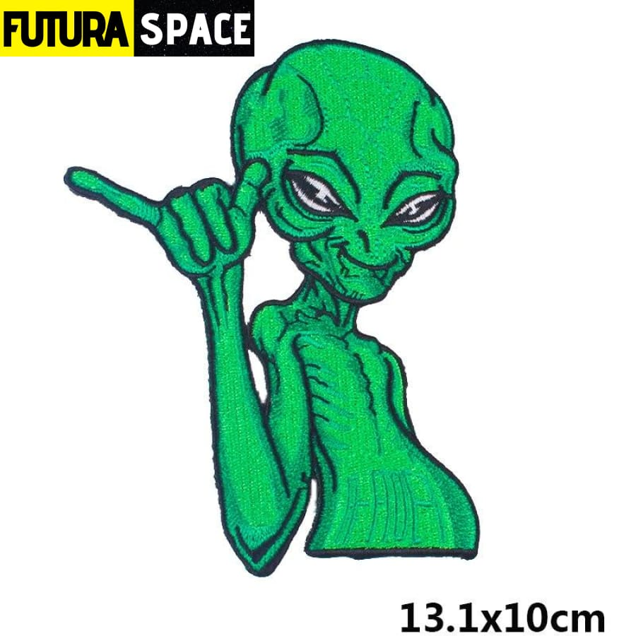 Alien Patch Sticker Badge - 100005735