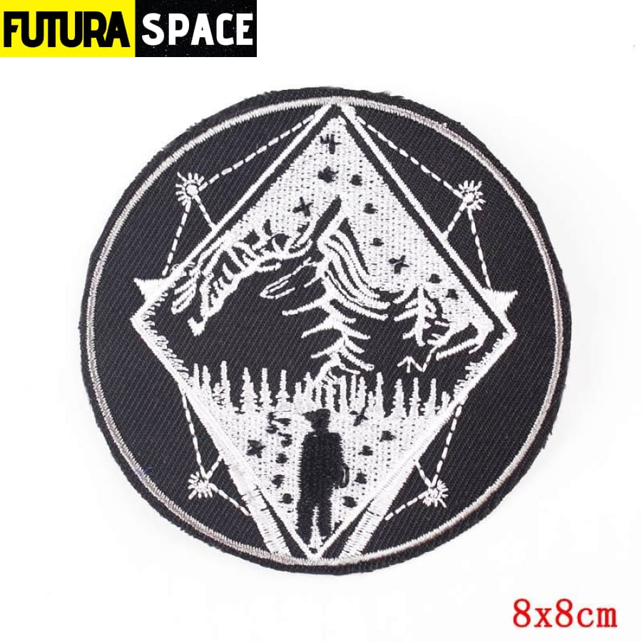 Alien Patch Sticker Badge - PE4730CT - 100005735