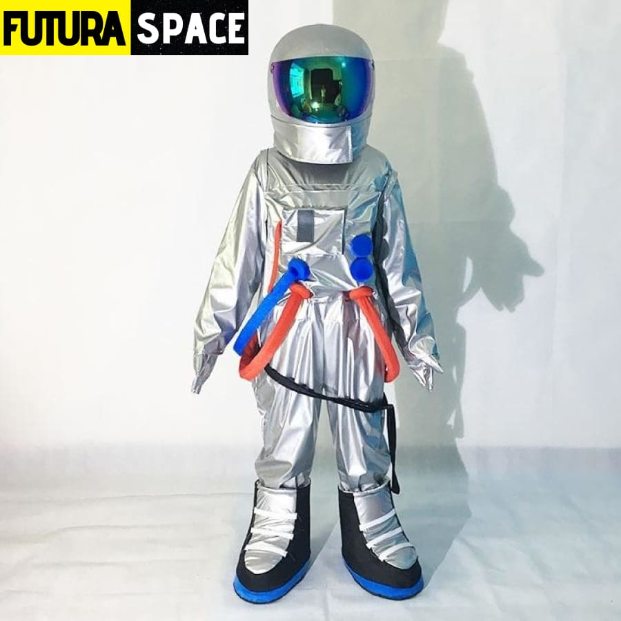 ASTRONAUT COSPLAY COSTUME - Gray / fit height 160-175cm -