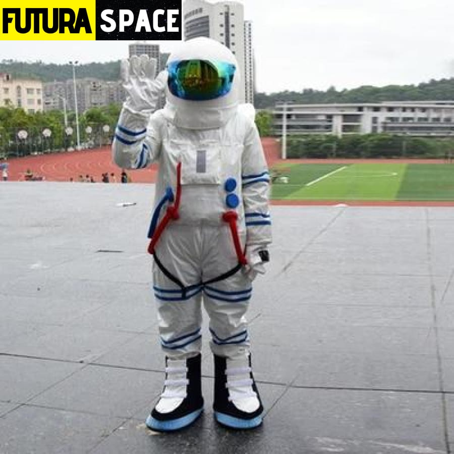 ASTRONAUT COSPLAY COSTUME - stripe / fit height 160-175cm -