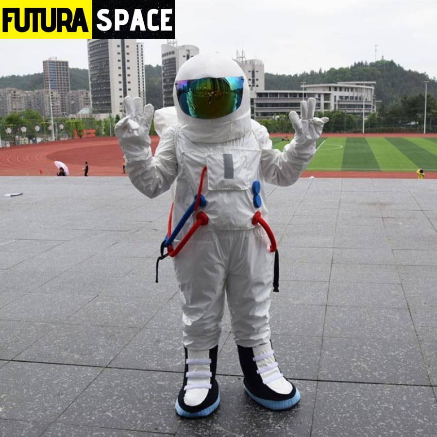 ASTRONAUT COSPLAY COSTUME - white / fit height 160-175cm -