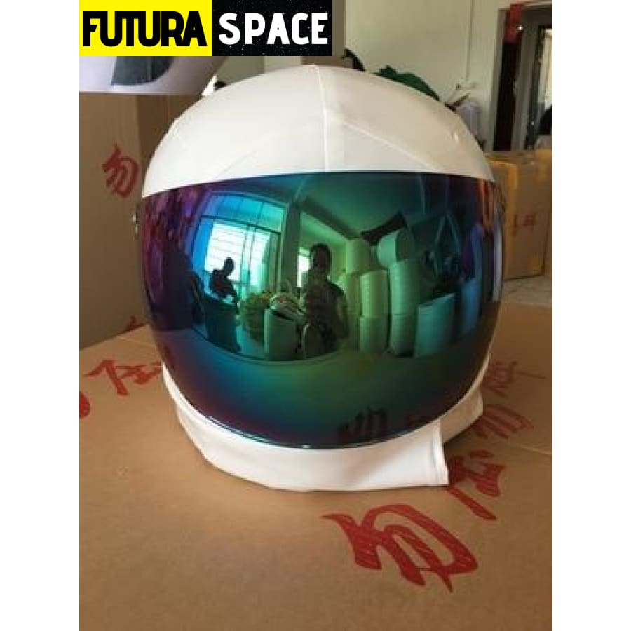 ASTRONAUT COSPLAY COSTUME - only have the helmet / fit