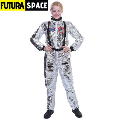 ASTRONAUT COSTUME FOR HALLOWEEN - White / S / Other -