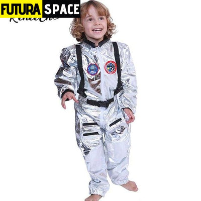 ASTRONAUT COSTUME FOR HALLOWEEN - Yellow / S / Other -