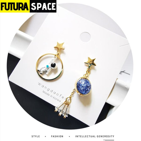 ASTRONAUTS EARTH EARRINGS - 200000168