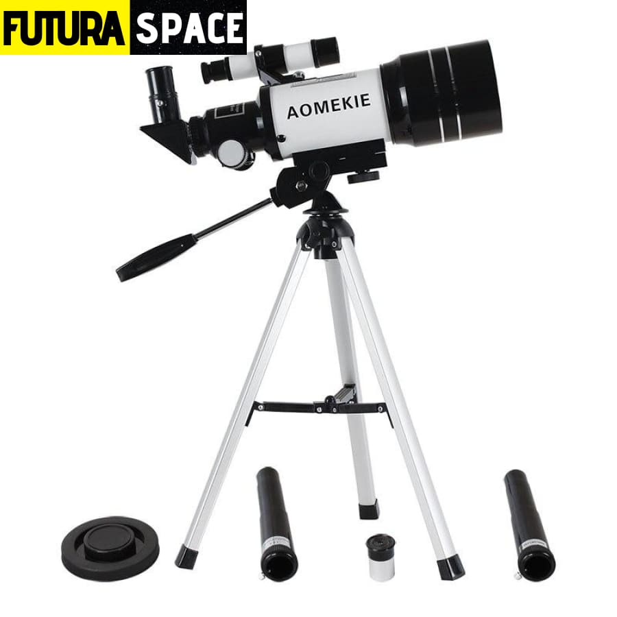 Astronomical Telescope with Tripod - as picture / China -