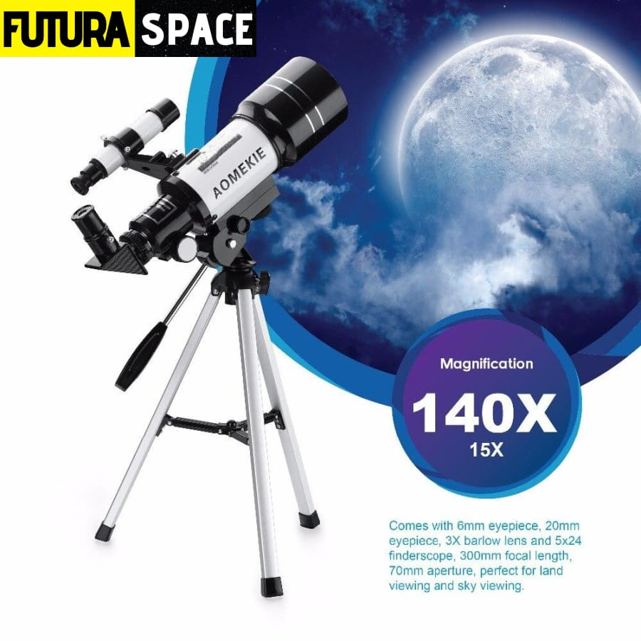 Astronomical Telescope with Tripod - 200001987