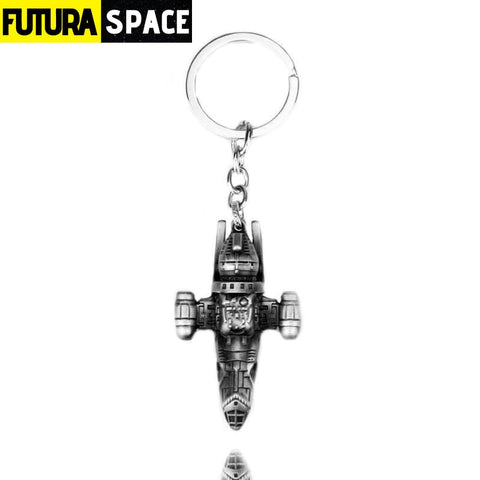 Battleship Keychain new series - Ancient tin - 200000174